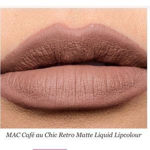 MAC Cafe au Chic liquid lip